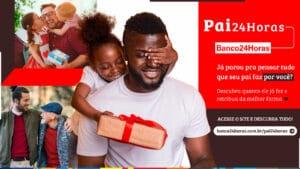 Banco24Horas lança campanha 'Pai24Horas' com calculadora que simula o saldo com gestos de carinho.