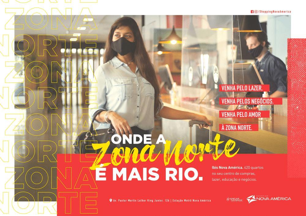 Binder assina nova campanha institucional do Shopping Nova América.