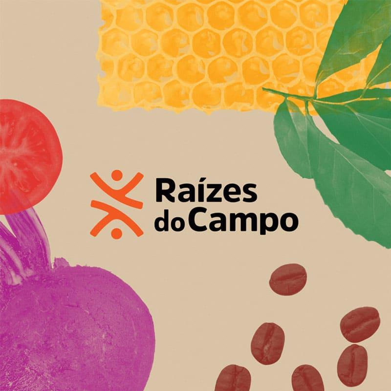 A CBA B+G assina projeto de branding que apresenta estratégia de marca, identidade verbal e visual da nova empresa Raízes do Campo.