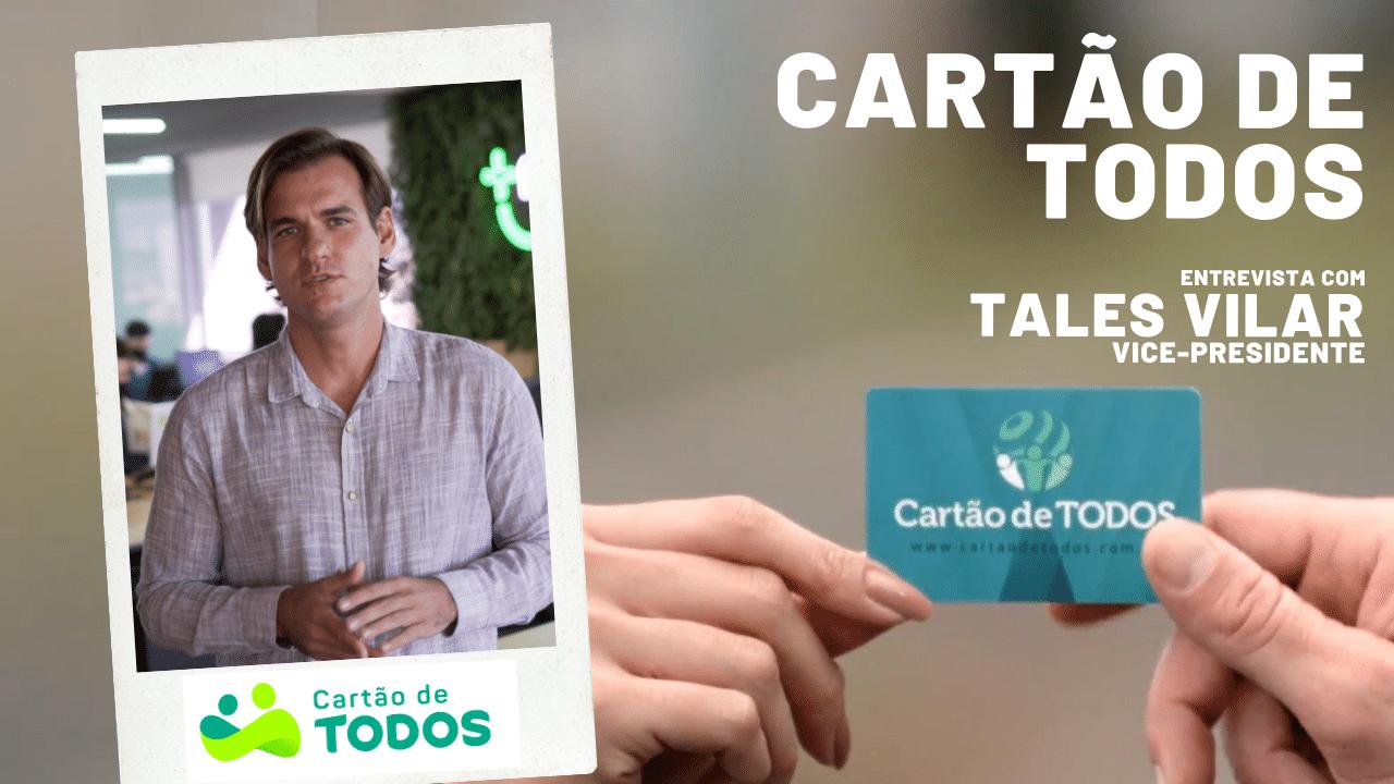 Elisangela Peres entrevista Tales Vila, vice-presidente do Cartão de Todos