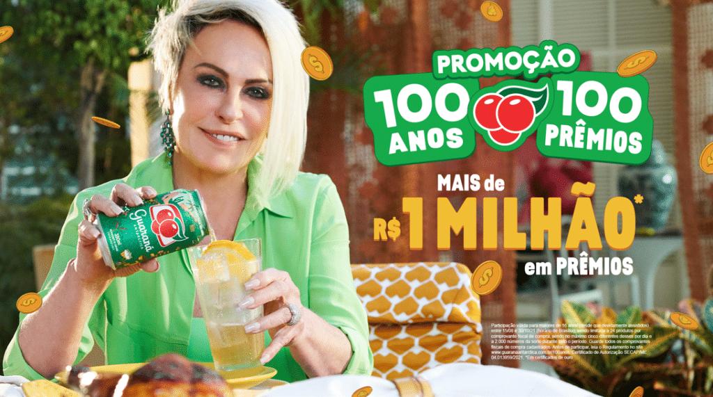 Guaraná Antarctica e Ana Maria Braga se unem para distribuir mais de R$ 1 milhão em prêmios.