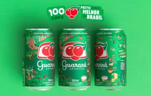 Guaraná Antarctica convidou seus sócios para fazer parte do centenário da marca, ao ajudar a criar a edição comemorativa das latinhas.