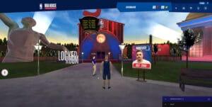 NBA House, projeto desenvolvido pela Umantech e VRGlass, levou os internautas a uma experiência virtual inédita no ambiente da NBA.