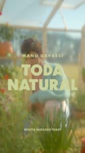 Manu Gavassi apresenta nova campanha da Nutrella.