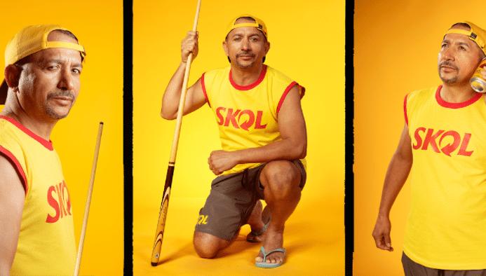 Skol lança o desafio Sinuquinha vs Snooker e convida Baianinho de Mauá para representar o país.