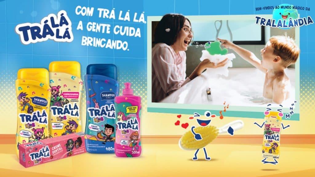 Trá Lá Lá lança ampla campanha que reforça ideia de que o cuidado infantil deve ser sempre motivo de união da família, com qualidade.
