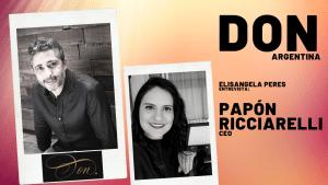 Elisangela Peres entrevista Papón Ricciarelli, CEO da agência Don de Buenos Aires, Argentina