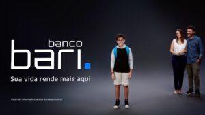 O Banco Bari anunciou sua primeira campanha em mídia aberta, que contará com peças para TV aberta, TV a cabo e inserções online.
