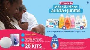 A JOHNSON'S lança a promoção Mães & Filhos ainda + juntos, onde os participantes receberão um voucher de R$15, além de 20 sorteios especiais.