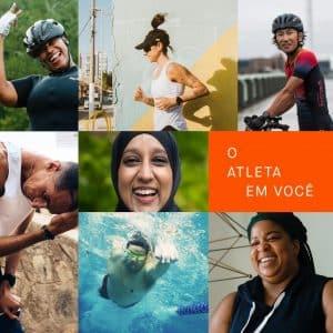 """O Strava lançou nesta semana sua campanha global """"O atleta em você"""", que mostra que não são somente resultados determinam quem é um atleta."""