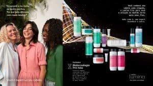 Natura Lumina apresenta nova campanha, que coloca a consumidora como a expert nas necessidades do próprio cabelo e Lumina.