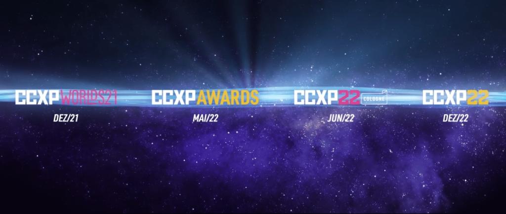 CCXP anunciou a expansão de seus eventos durante 2021 e 2022, com anúncio do CCXPverso, uma jornada de eventos realizados ao longo de 2022.