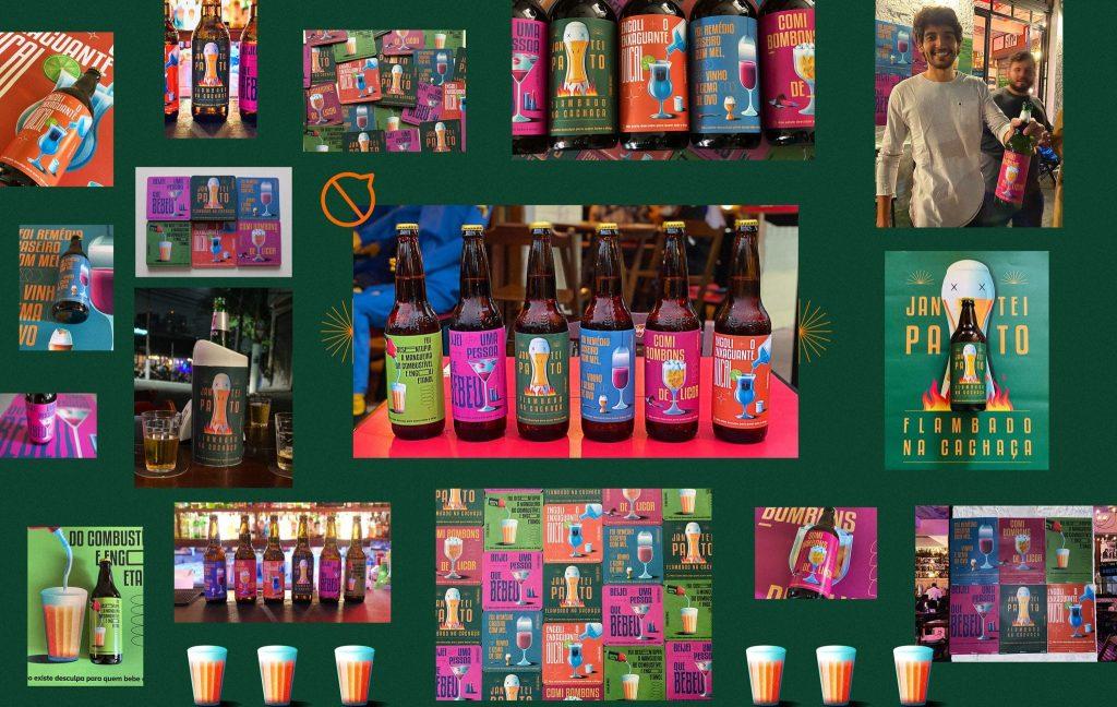 """A Artplan criou, para conscientizar sobre a não compatibilidade da bebida com a direção, a ação para o Detran, """"Rótulos Indesculpáveis""""."""