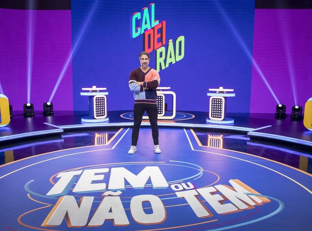 Marcos Mion - Caldeirão - Rede Globo