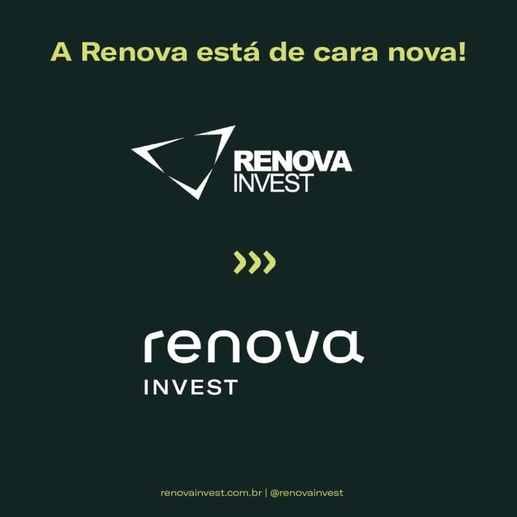 Renova Invest apresenta nova marca institucional.