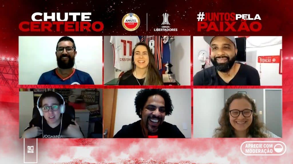 Amstel estreia uma Mesa Redonda que reúne pessoas diversas e apaixonadas por futebol para discutir a diversidade e inclusão no esporte.