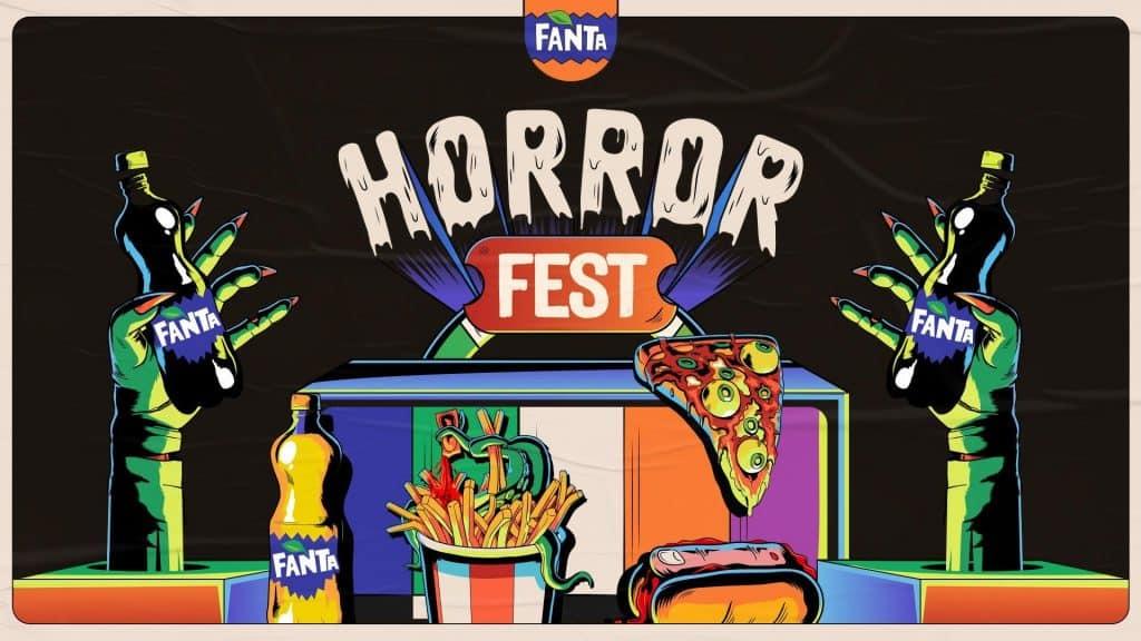 Fanta realizará, no dia 31 de outubro, a primeira edição do festival mais assustador e saboroso que a internet já viu: o Fanta Horror Fest.
