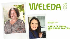"""Mulheres na liderança: Maria Claudia, CEO da Weleda. """"É possível ter sucesso respeitando o planeta""""."""