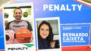 Elisangela Peres conversou com Bernardo Caixeta, gerente de marketing e relações esportivas da Penalty, fabricante de material esportivo.