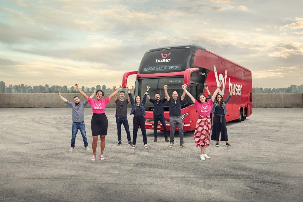 A Buser inicia o mês de outubro com um novo posicionamento de marca, desenvolvido em parceria com a agência Talent Marcel.