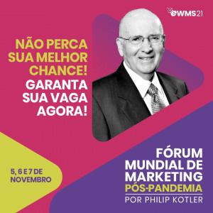 Brasil se prepara para o Fórum Mundial de Marketing Pós Pandemia organizado por Philip Kotler.