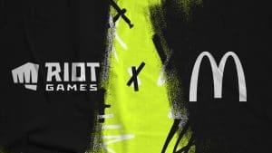 """McDonald's patrocina """"combos"""" nas finais mundiais do League of Legends."""