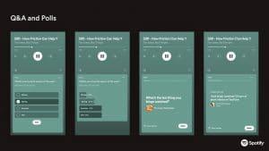 O Spotify apresenta duas ferramentas inéditas, de Perguntas e Respostas, para trazer ainda mais interatividade aos podcasts.