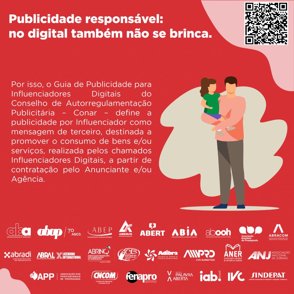 """ABA, Associação Brasileira de Anunciantes, reune 22 associações para a terceira fase da ação """"Com publicidade responsável não se brinca""""."""