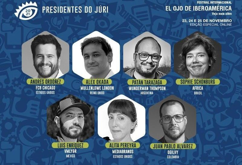 O Festival El Ojo de Iberoamérica revela mais sete profissionais da indústria da comunicação ibero-americana que serão presidentes de júri.
